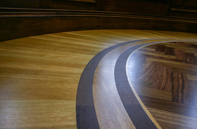 Hardwood marquetry London and Beaconsfield