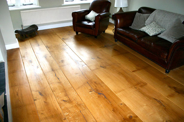 Hardwood wideboards - London and Beaconsfield